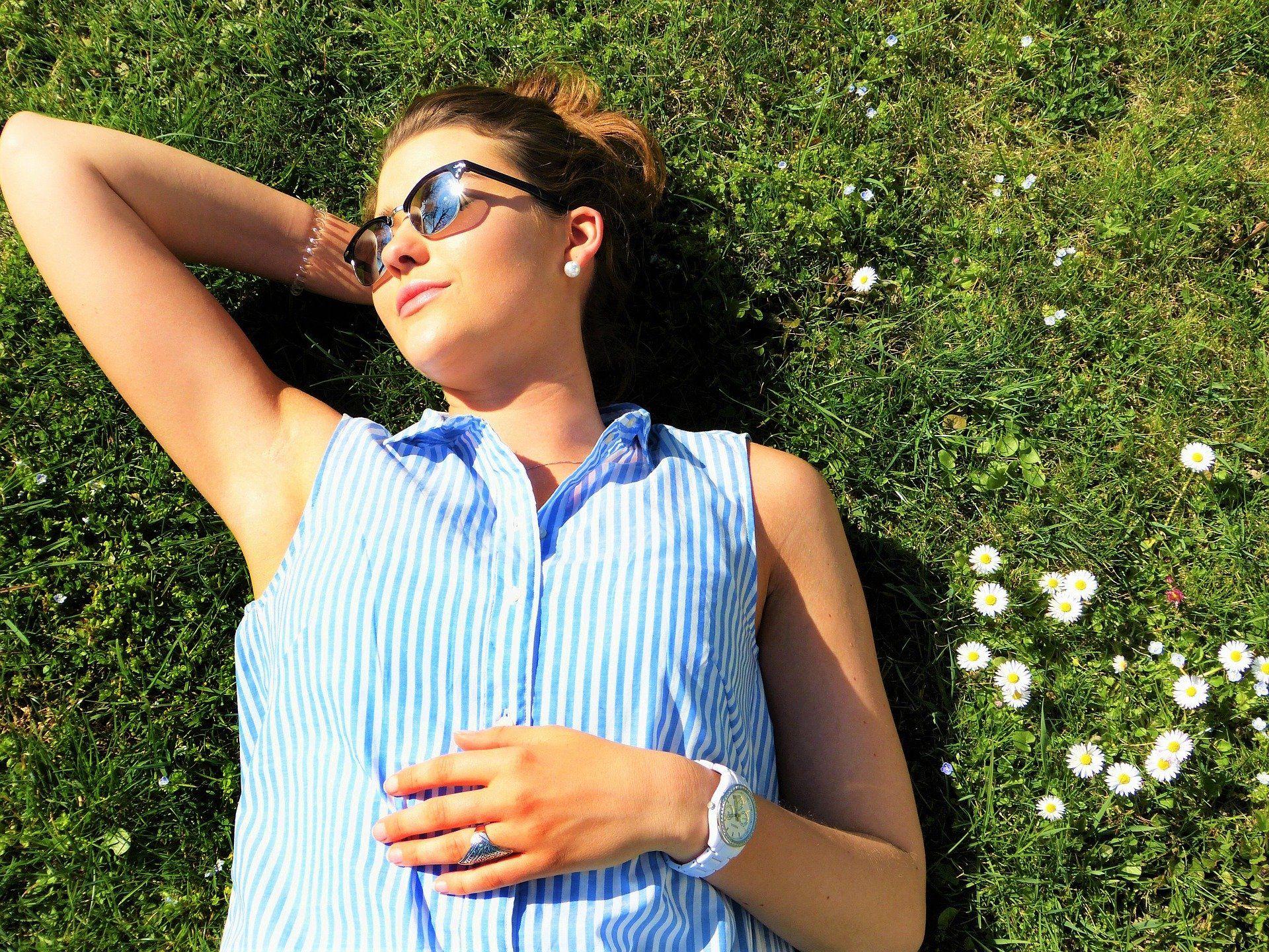 Entspannt und sorgenfrei die Sonne geniessen