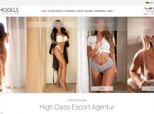 Screenshot Website Ivana Models