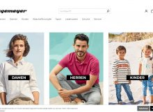 Screenshot Website Shop von Hagemeyer