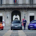 One-Shot: Armani, Bvlgari und Kartell gestalten drei Fiat 500