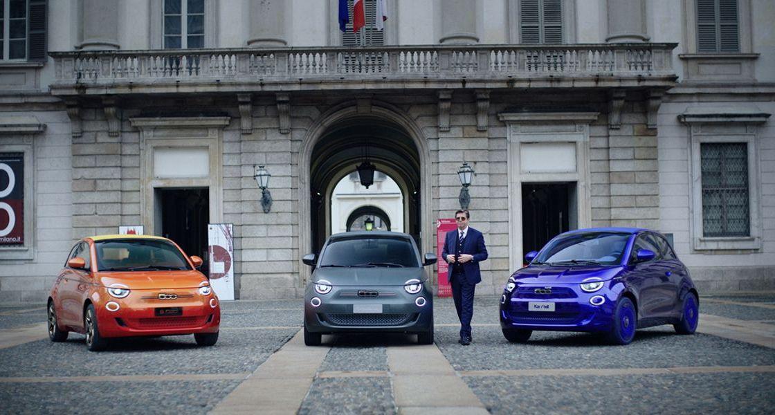 One-Shot: Armani, Bvlgari und Kartell gestalten drei einzigartige Fiat 500