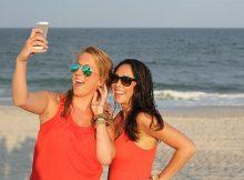 Besonders beliebt sind Schnappschüsse am Strand