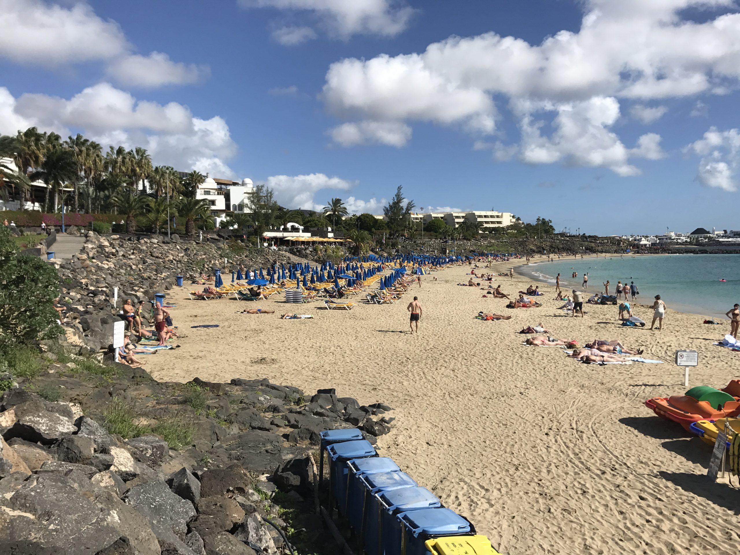 Auch die Kanaren, hier Lanzarote, sind stark betroffen
