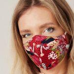 Stylische Mund-Nasen-Bedeckungen von Designerin Jette Joop