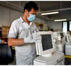 Tausende Beatmungsgeräte von FCA und Siare