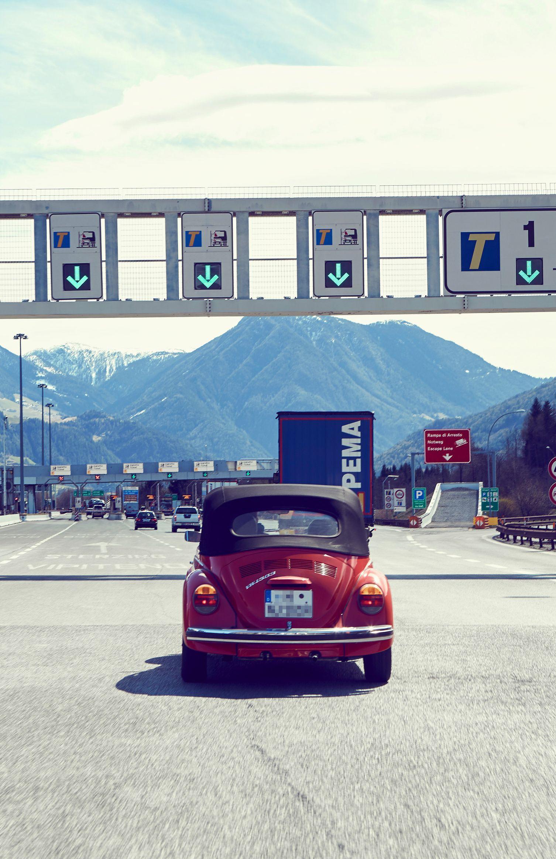 Viele Mautfallen auf italienischen Autobahnen
