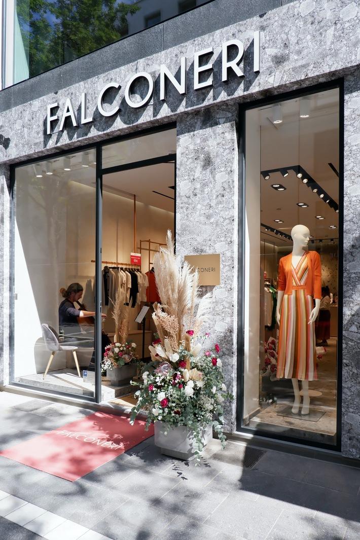 Der Strick-Spezialist eröffnet Stores in Düsseldorf und Frankfurt