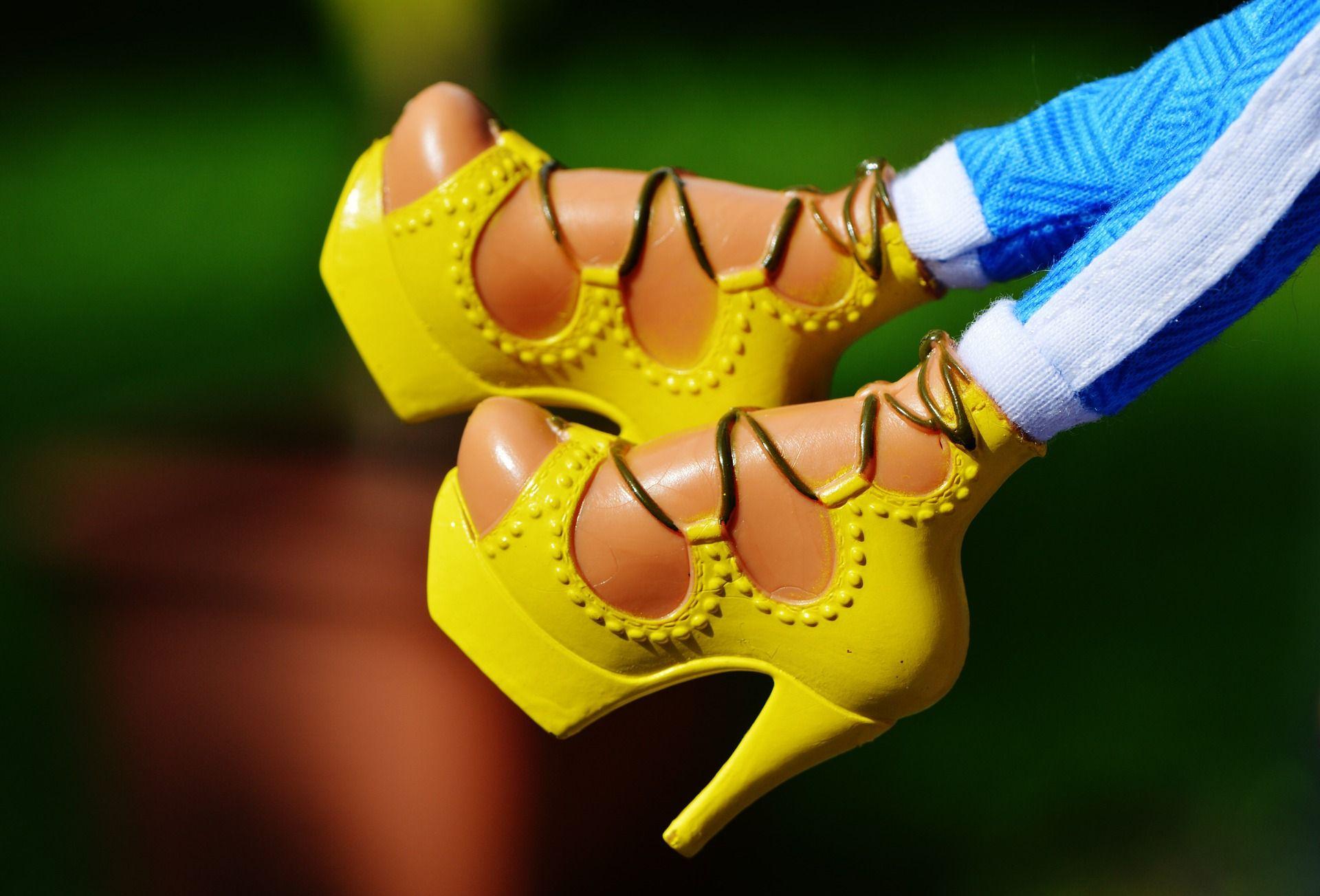 Nicht nur heisse Puppen tragen gerne High Heels