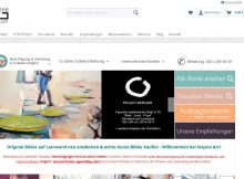 Screenshot Website Inspire Art