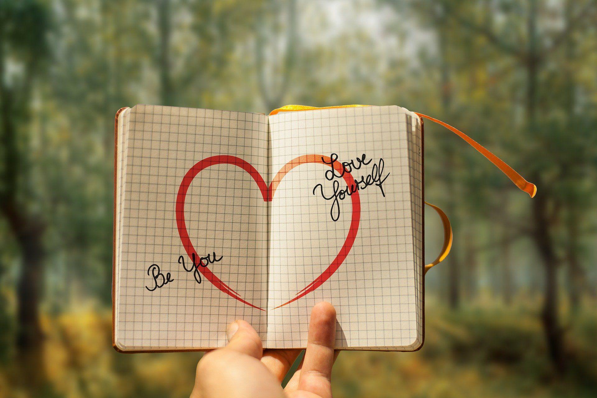 Nur wer sich selber liebt, kann andere Menschen lieben