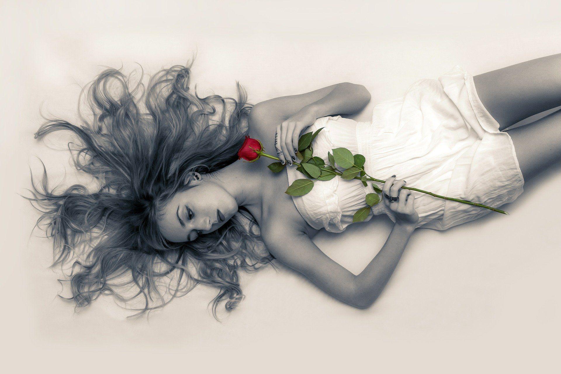 Schönheit und Rosen - das gehört einfach zusammen