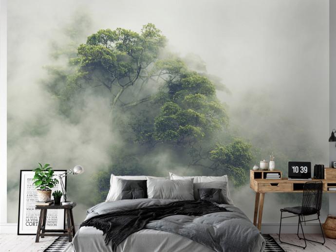 Oder Natur und die Wildnis ins Schlafzimmer holen