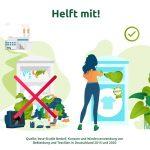 Altkleider-Textilsammlung: Hohe Schad- und Störstoffanteil in Altkleidercontainern