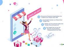 Zwölf Fakten zum Singles Day: Wissenswertes zum Shopping-Event made in China