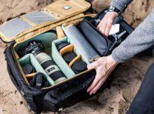 EVOC Professional-Line Drohnen- und Foto-Rucksack zugleich