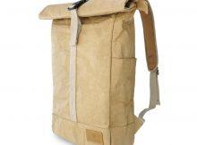 Rolltop Rucksack Papier For Theodore - nachhaltig, vegan, wasserfest