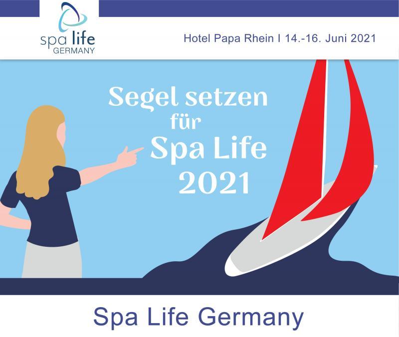 Segel setzen - Spa Life Germany 2021