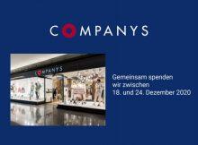 Companys Spendenaktion im Dezember 2020