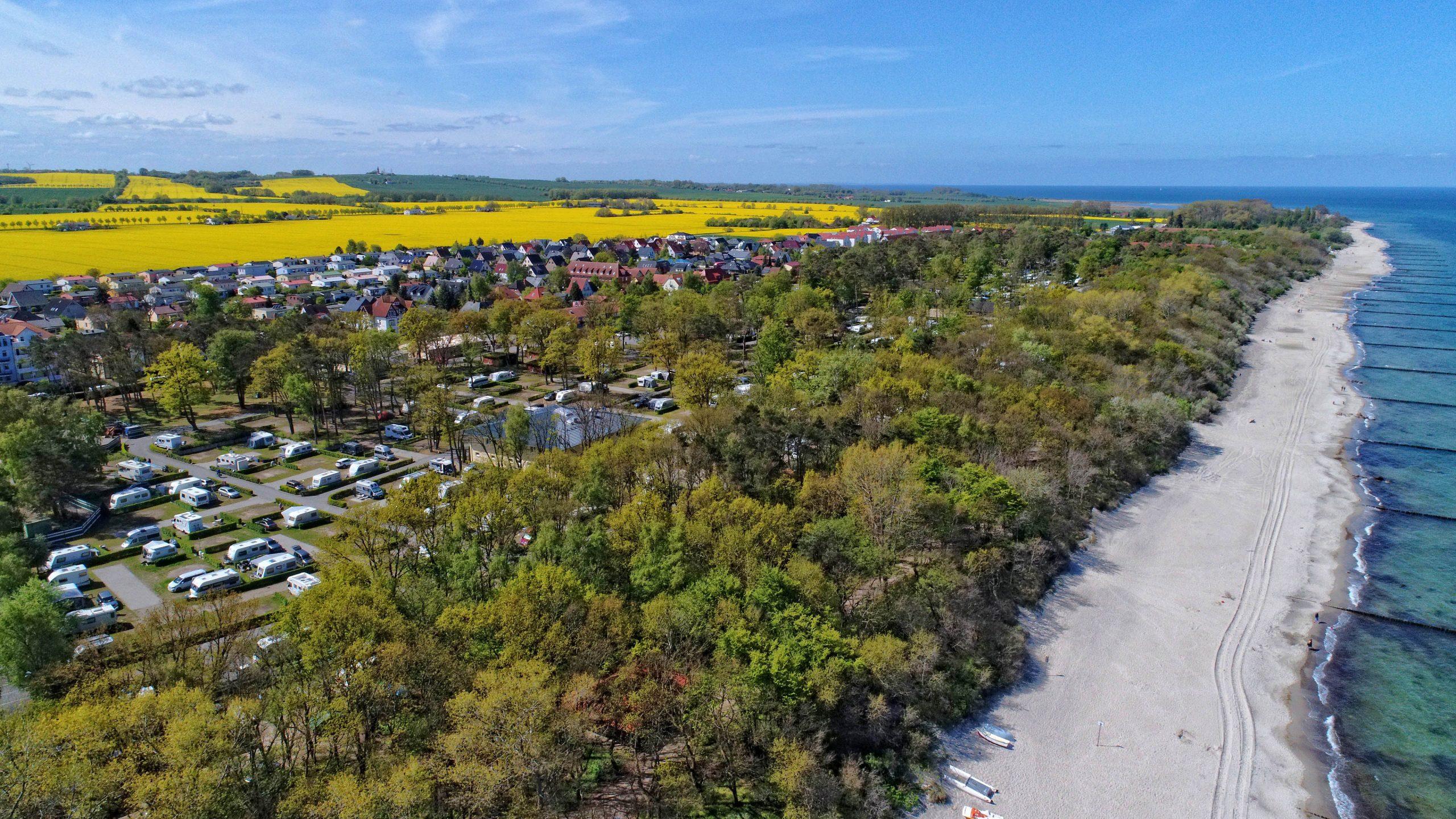 camping.info Award 2021: Der Campingpark Kühlungsborn aus Mecklenburg-Vorpommern wurde zum beliebtesten Campingplatz Europas gewählt.
