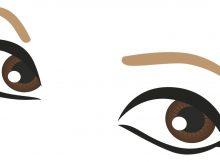 Die Augen im Fokus