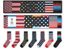 Das Leben ist zu kurz für schwarze Socken