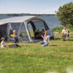 Outwell Luftzelte machen Familien-Urlaub komfortabler