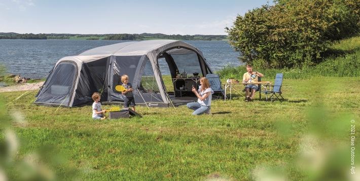 Komfortabler Familien-Urlaub mit Luftzelten von Outwell