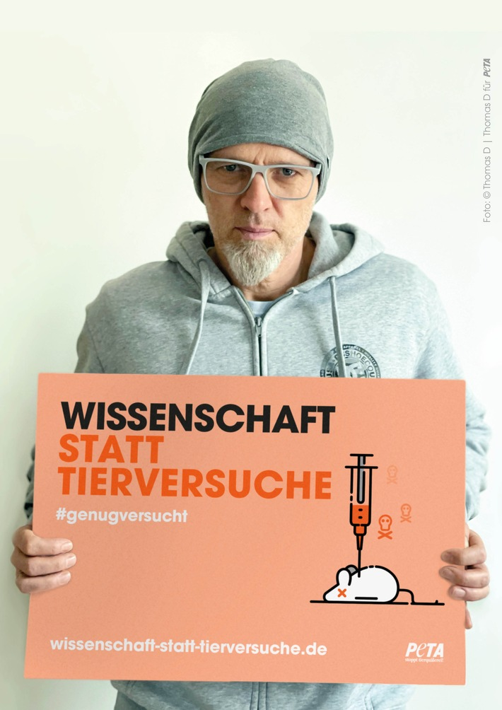 © Thomas D für PETA, PETA Deutschland e.V.