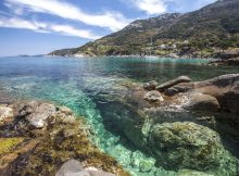 Capo Santandrea Wurderschöne Landschaft und Sonne