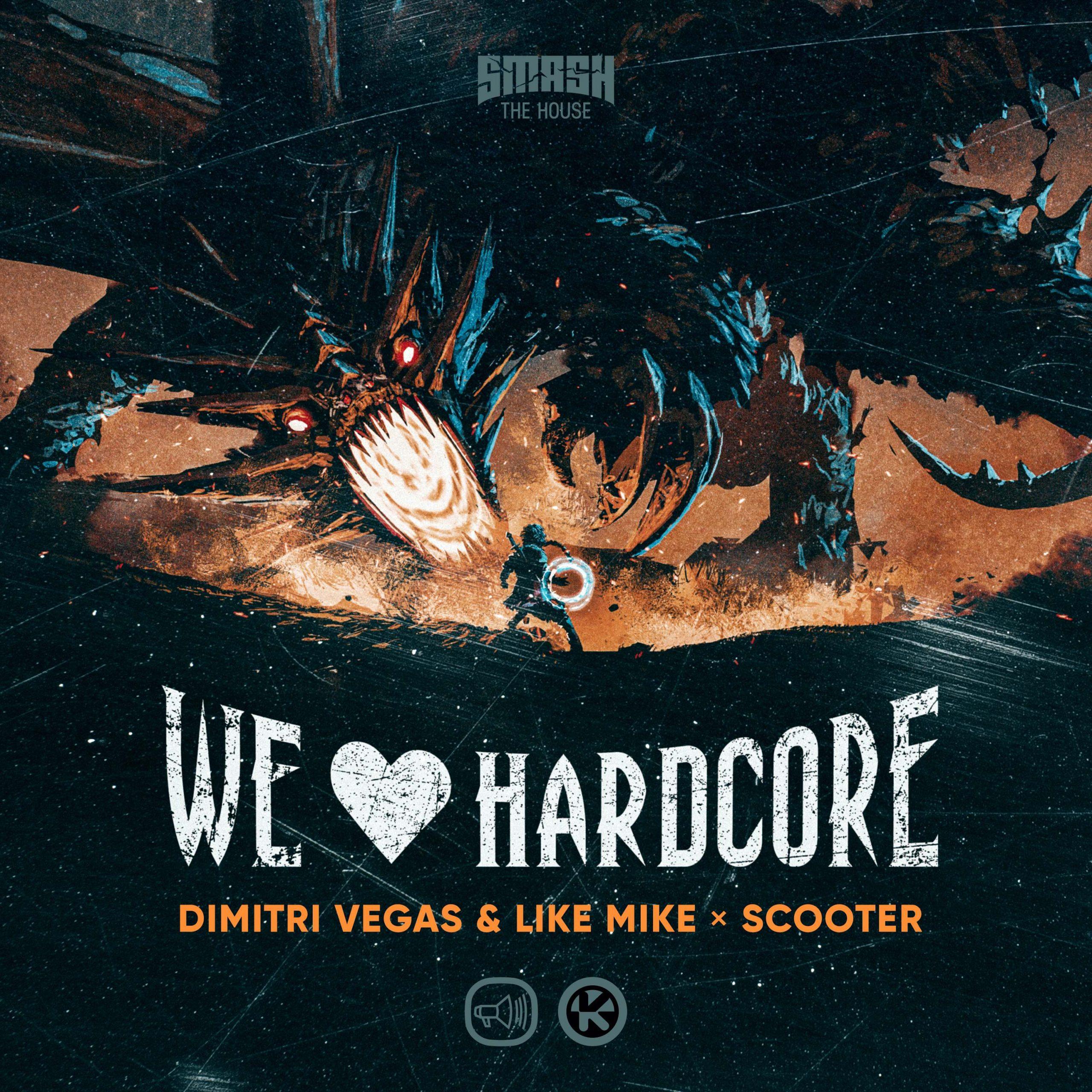 Dimitri Vegas & Like Mike und Scooter bringen neue Technohymne We Love Hardcore