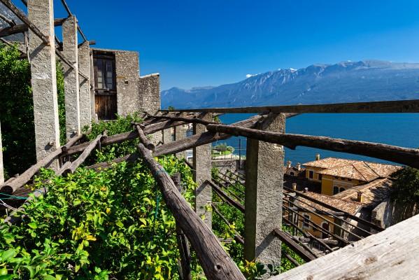 Limonaia am Gardasee, Lombardei (© Roberto Maggioni)