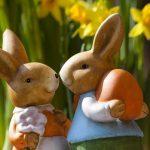 Zwischen bunten Eiern, Osterhase und Jesus Christus