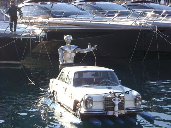 Mercedes parking space Monaco