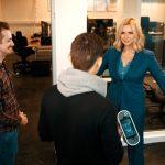 """Startup """"Presize"""" freut sich über Besuch von Veronica Ferres"""