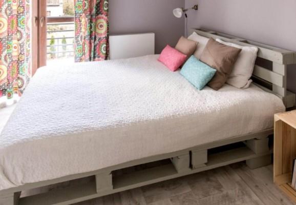 Aus Paletten lassen sich leicht schöne Möbel herstellen