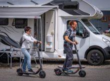 E-Scooter und Camping