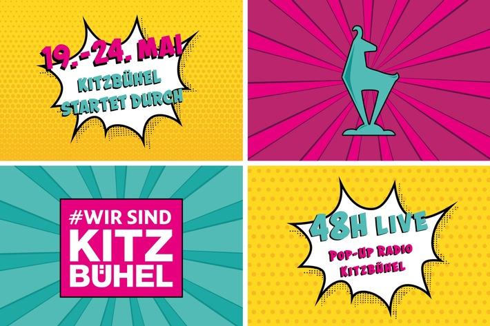 Mit 19. Mai wird die Sommersaison in Kitzbühel eröffnet - mit großem Gewinnspiel und Pop-Up Radio / Bildrechte: Kitzbühel Tourismus