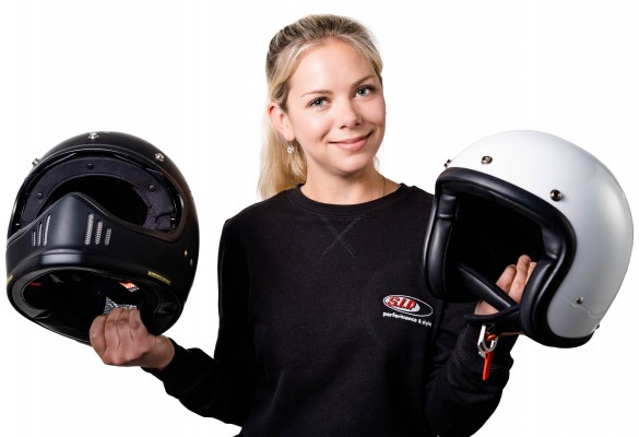 Helm für die Vespa