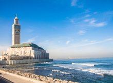 Casablanca - Eine Moschee direkt am Meer