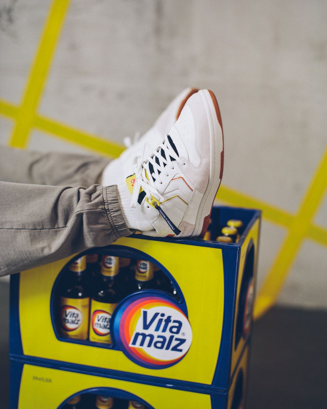 """The New Oldschool"" - Sneaker von Vitamalz x Hummel"