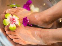 Sommerschön gepflegte Füße: Umweltschonend selbstgemacht