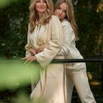 Frauke Ludowig und Nele als Model-Dreamteam