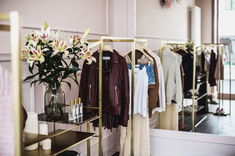 Innenansicht der Boutique April First