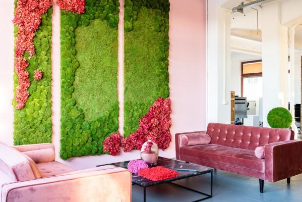 Die Natur schlägt Wurzeln in der Architektur und im Interieur Design