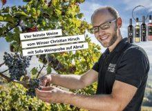 Feinste Weine mit virtueller Weinprobe auf Abruf